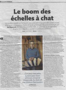 article Migros Magazine Echelle Eliott